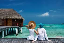 La coppia in vacanza