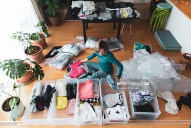 Home de-cluttering: liberare lo spazio