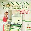 Single Coaster - Cannon Gas Cooker,Robert Opie Collection