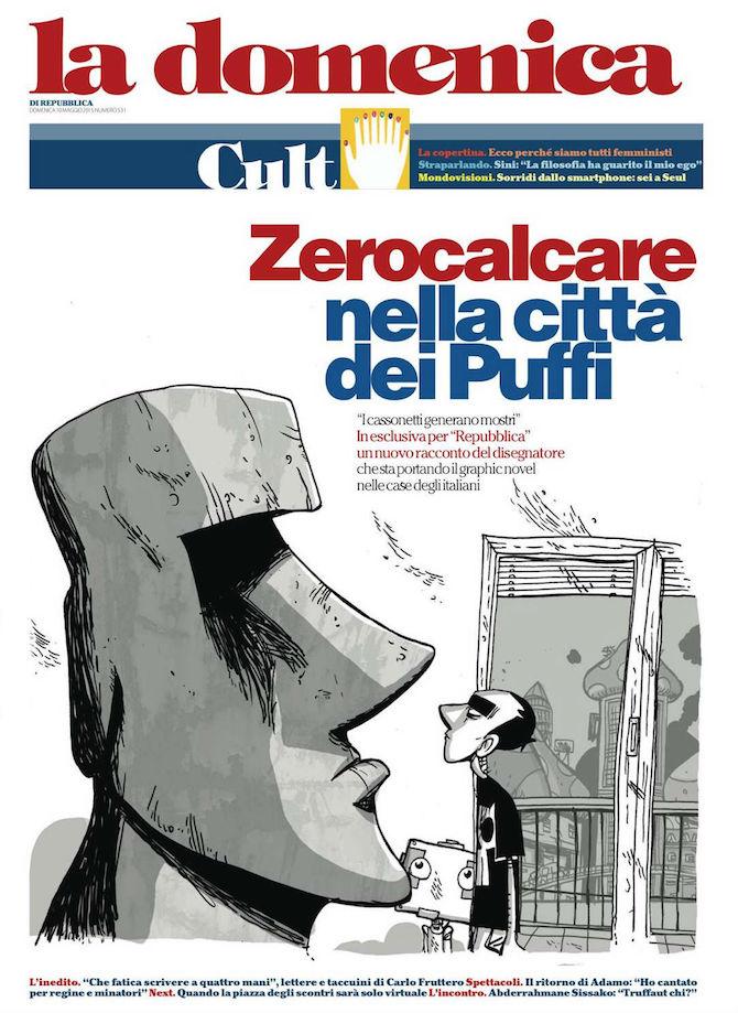 Zerocalcare Repubblica