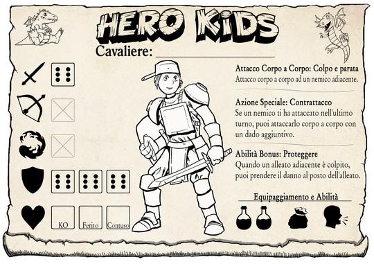 Hero Kids - Hero Card - Italian - Knight Male