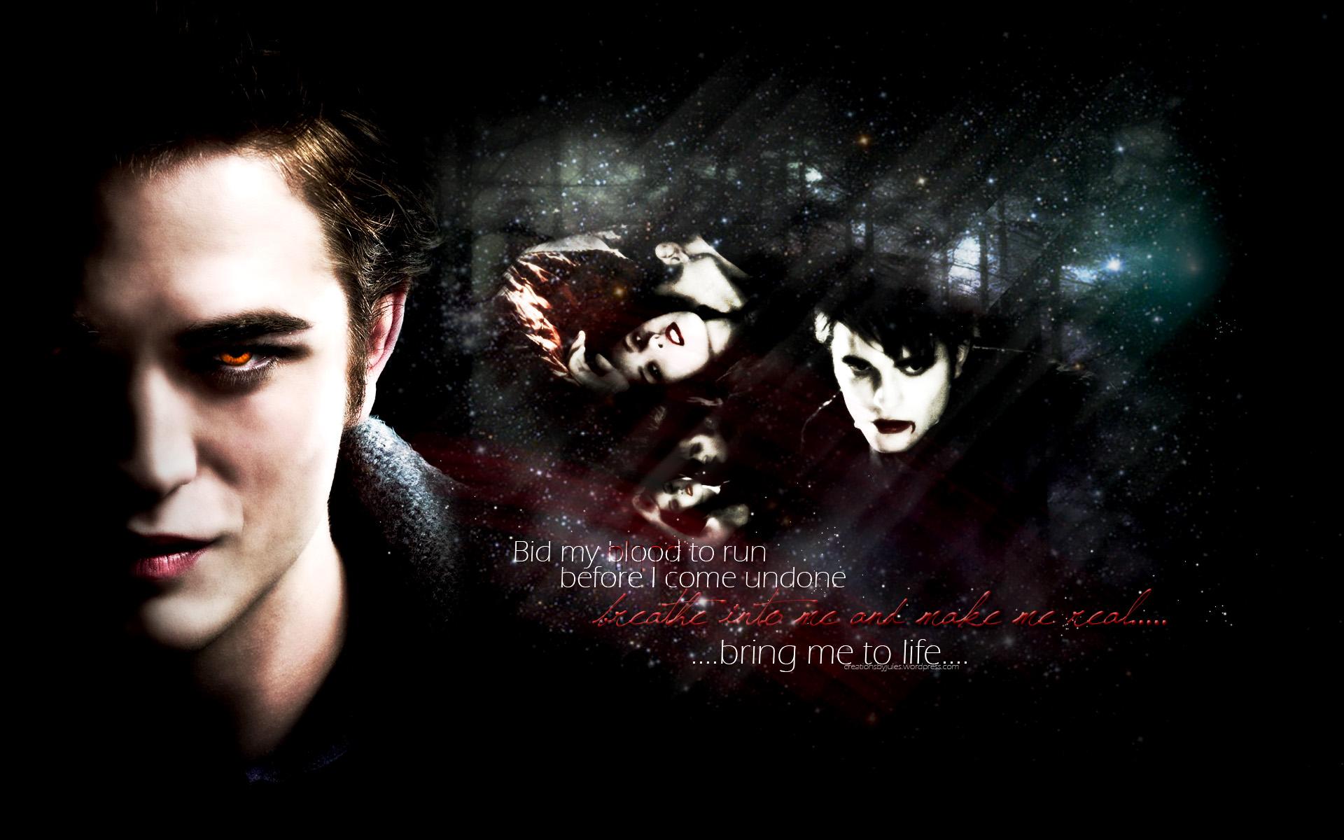 Edward Cullen Wallpaper Robert Pattinson Australia