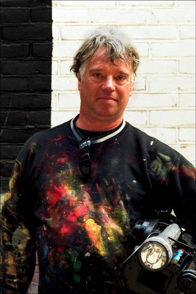 robert pennekamp, kunstenaar, beeldend kunstenaar, robbert, pennenkamp, tv, studio, camera, bn, bn-er, bekende nederlander