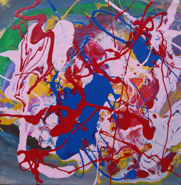 good luck painting, good luck, geluk, hoop, droom, uitkomen, wens, handleiding, robert, pennekamp, robert pennekamp, schilderij, kado, cadeau, leuk