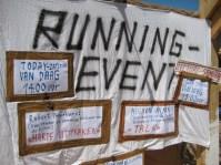 Thomas Hirschhorn, Amsterdam, Robert, Pennekamp, Spinoza, Festival, harde uitspraken, koelkast, koelkastdeuren, running event