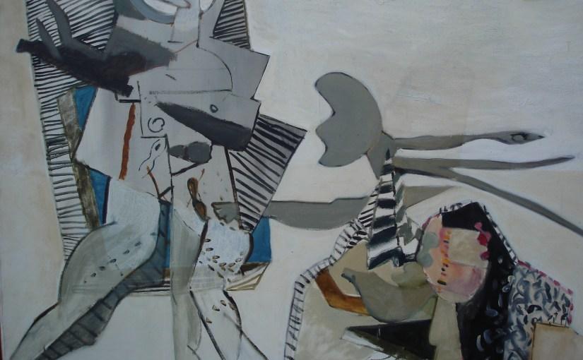 prix de rome, guus van der braak, gustaaf van der braak, schilderij olieverf, kunstenaar, schilder, naakt, figuratief, abstract, robert, pennekamp, collectie, grijs, vrouw, model, naakt, Guus van der Braak, Gustaaf van der Braak, olieverf op linnen, collectie, Robert Pennekamp,