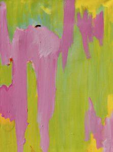 Hardop op nieuw, Robert, Pennekamp, Robert Pennekamp, olieverf, linnen, painting, oil, schilderij, 706, groen roze, gemengde technieken