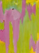 Hardop op nieuw, 706, Robert, Pennekamp, Robert Pennekamp, olieverf, linnen, painting, oil, schilderij, 706, groen roze, gemengde technieken