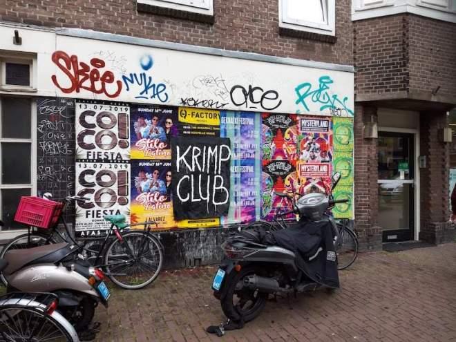 krimpclub, club, krimp, robert, pennekamp, robertpennekamp, performance, artclub, artdate, amsterdam, underground, street art, trash, trash art, conceptual, sitespecificartaction, intervention, brainstormbureau, krimpen, artjam
