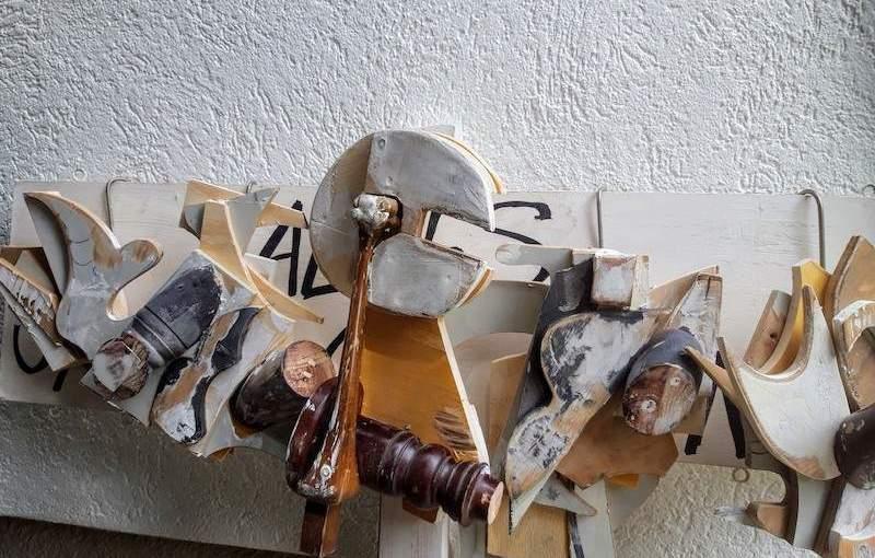art, opnieuw, extra, robert, pennekamp, artist, new, found materials, duurzaam, instant, wood, objects, gevonden, hout, beeld, trash, trashart