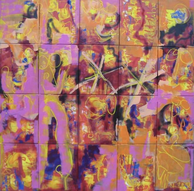 halojo, 923, schilderij, robert, pennekamp, robert pennekamp, contemporary art, art, modern art, gallery, museum, top, best, top 10, painting, figurative, abstract, expositie, expressionisme, colorful,