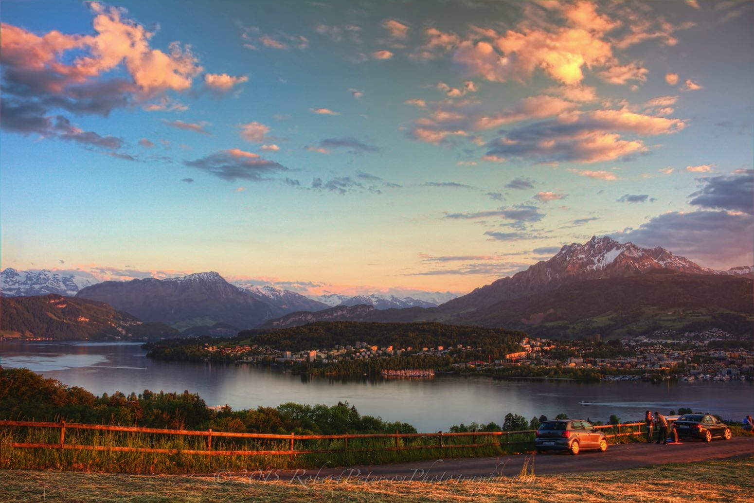 mount Pilatus Luzern Switzerland Dusk Cloud ghosting fix DeNoise Topaz Adjust 5 Compress robert peterson photography