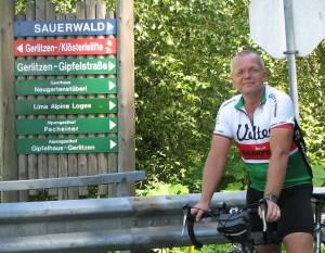 Hij krijgt er geen genoeg van - de andere kant van de Gerlitzen, de Gipfelstrasse...