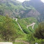 De klassieke route gezien vanaf Villard-Reculas