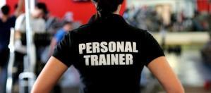 Trainer wearing black shirt