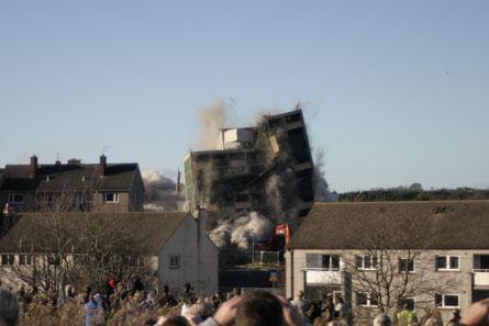 Oxgangs Demolition Picture 2