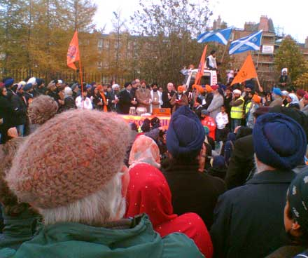 Tam O' Shanters and Turbans, standing firm against racism