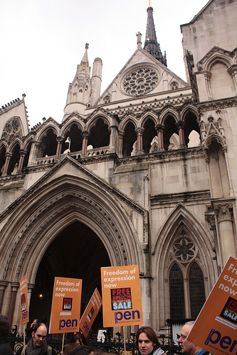 Royal Courts of Justice. Photo by Yrstrly off of Flicker.