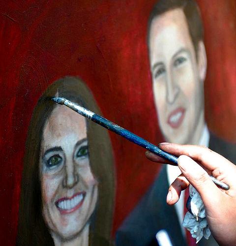 Pintando a la Monarquía