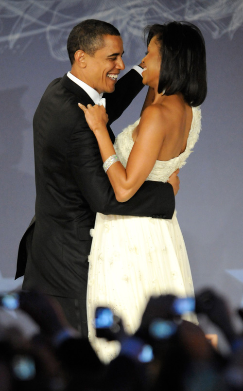 President and First Lady at the Washington Hilton. Photo by Kevin Mazur/WireImage.com