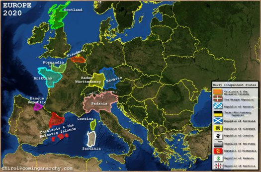 Conjecture of Europe 2020, by Chirol at ComingAnarchy.com