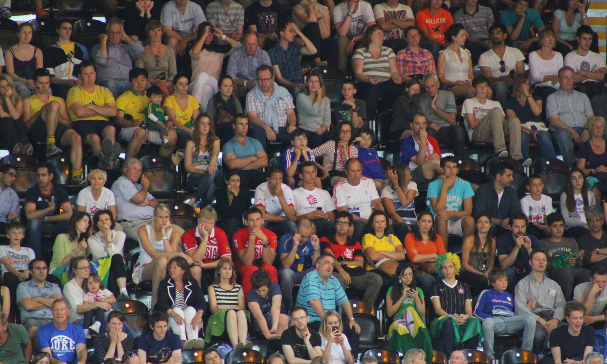 London 2010 Basketball arena