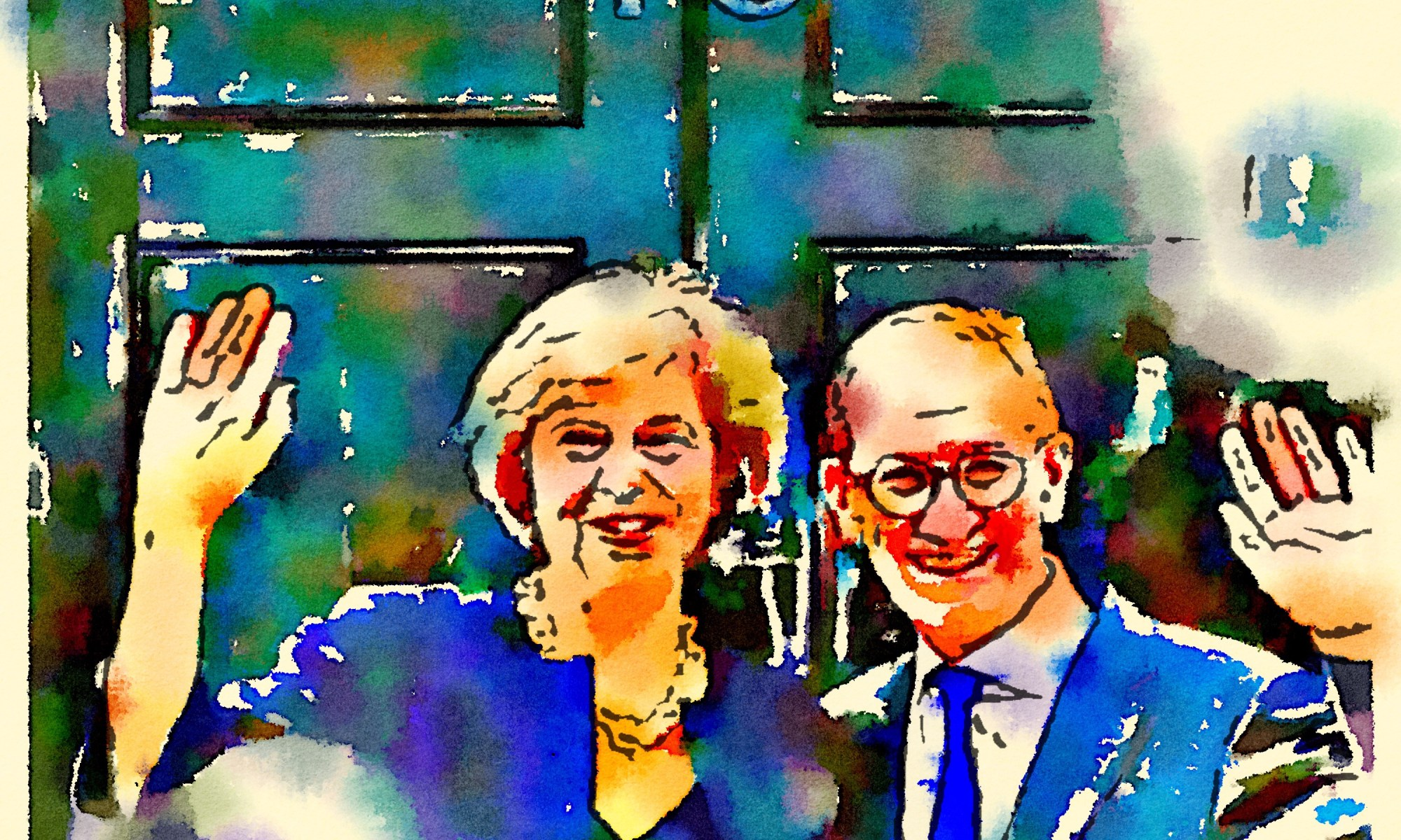 Teresa and Philip May
