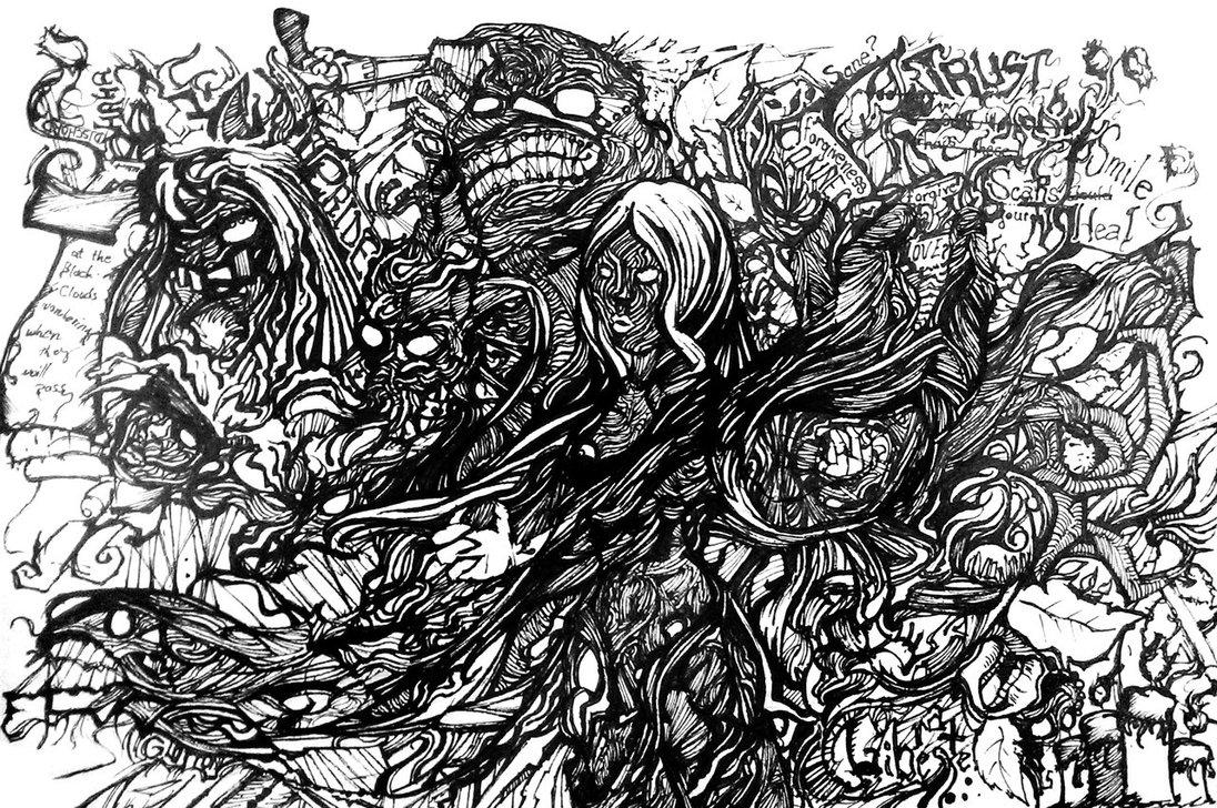 A Chaotic Mind by ReginaldJean