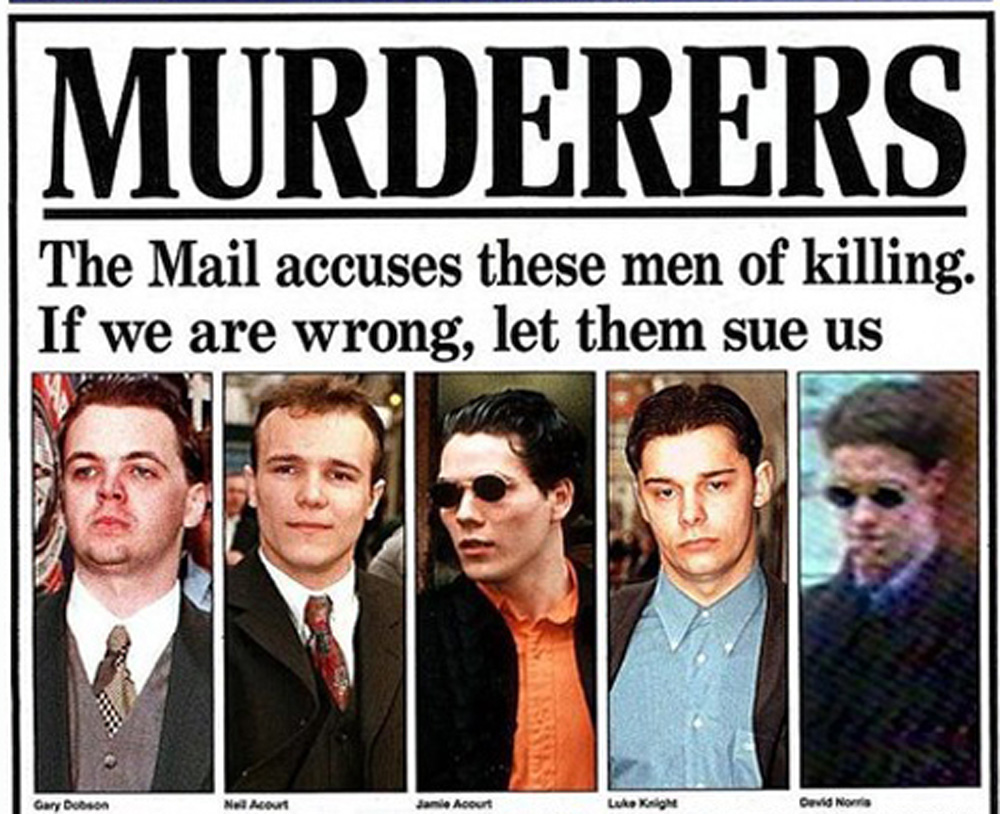 The Daily Mail and Stephen Lawrence