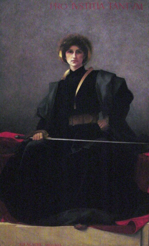 'The Sword' by Alfred Pierre Agache (1896)