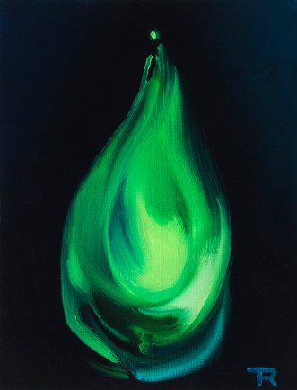 Flaming Green - Study