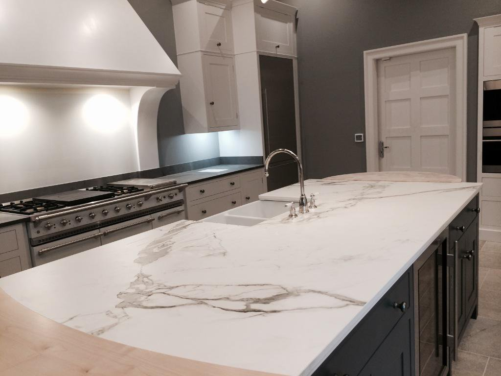 dekton countertops robertson kitchens in erie, pa - robertson