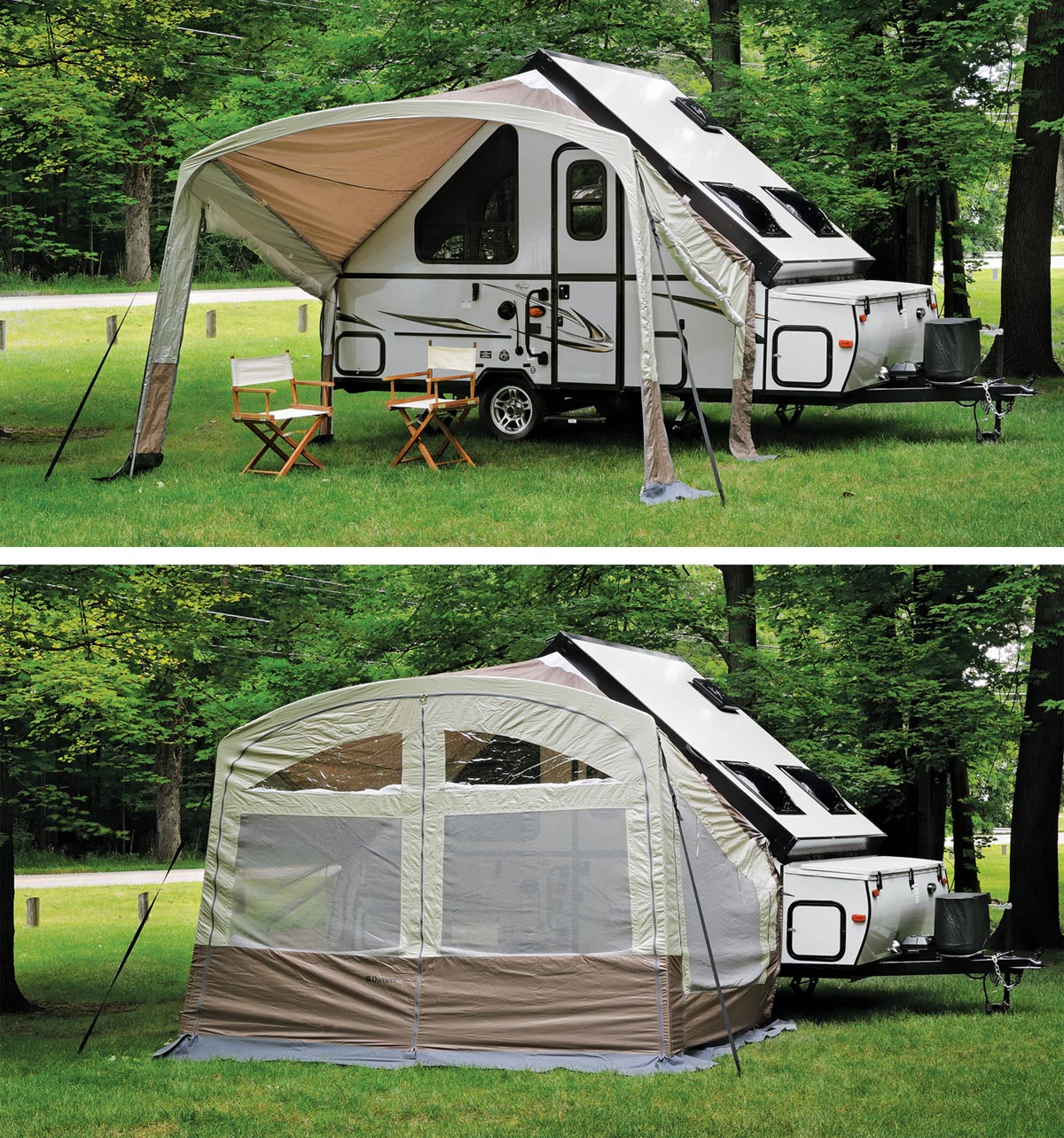 Rv Awning Screen Sides