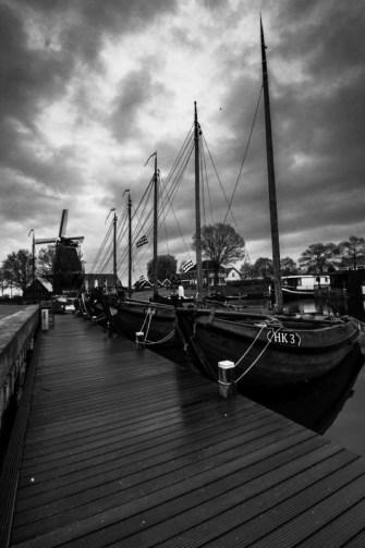 Kotters in Harderwijk, oude haveb