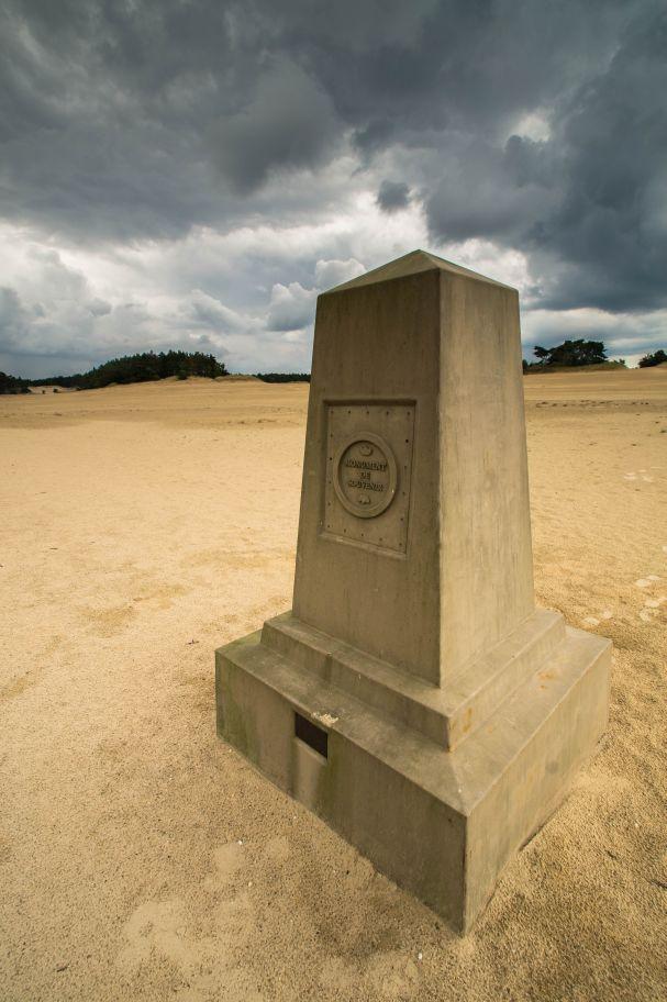 Hulshorsterzand - Monument de Souvenir