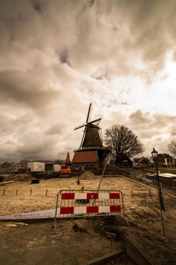 Wederopbouw, Harderwijk, molen, Waterfront 2015