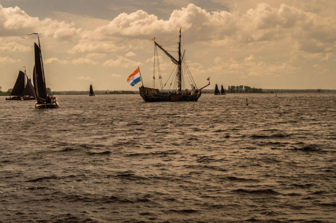 Zeilfeestje op Eemmeer