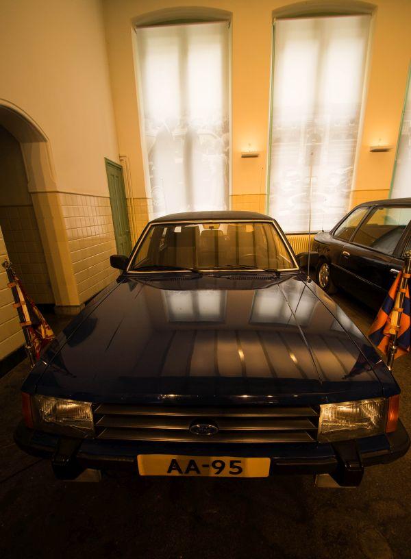 Tentoongestelde auto's paleis het Loo