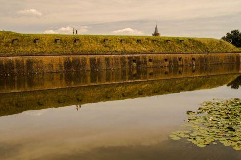 Vestingwallen Naarden-Vesting