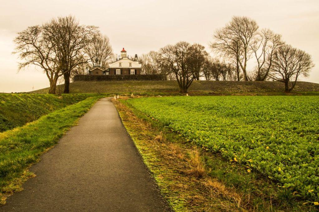 Oud Kraggenburg, lichtwachterswoning