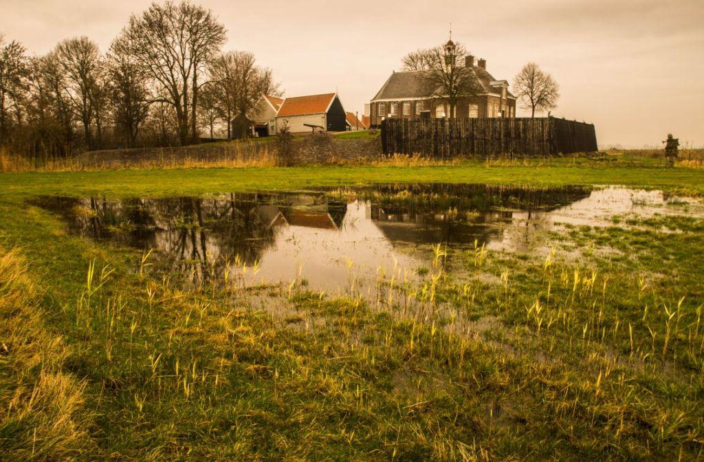 Schokland, Middelbuurt, Museum en Ensener kerk