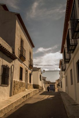 Straatje in Denia