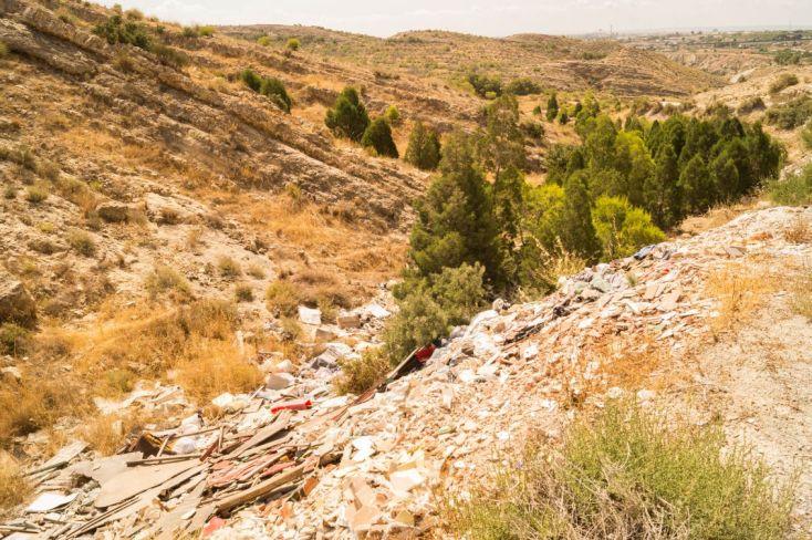 Contaminacion de Pantano de Elche