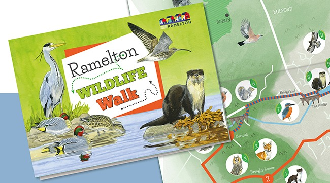 ramelton_wildlife_walk_map