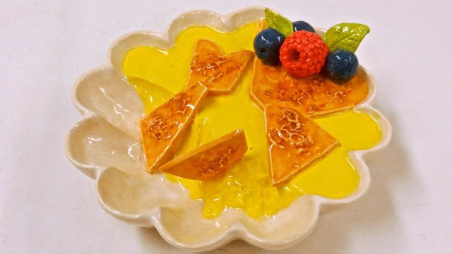 Creme Brullee with Fruit