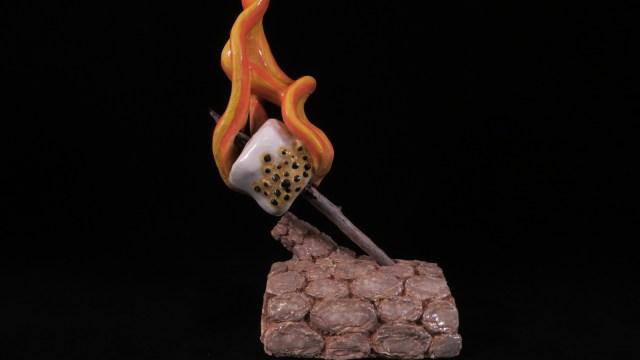 Flaming Marshmallow