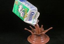 Pouring Chocolate Milk, Sold