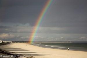 Wells Beach Rainbow