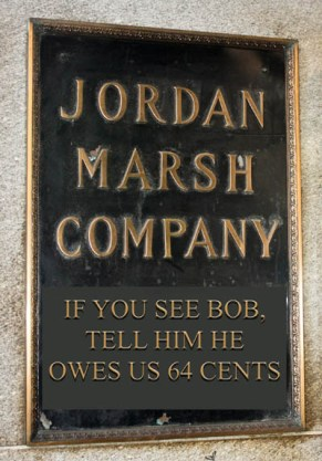06 Downtown - Jordan Marsh Entrance