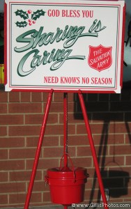Christmas Still Life - Salvation Army